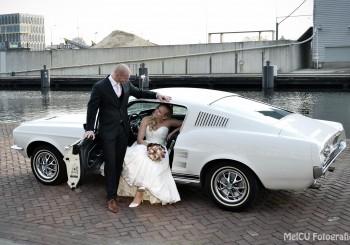 Exclusieve Ford  Mustangs voor uw bruiloft en bijzondere dagen